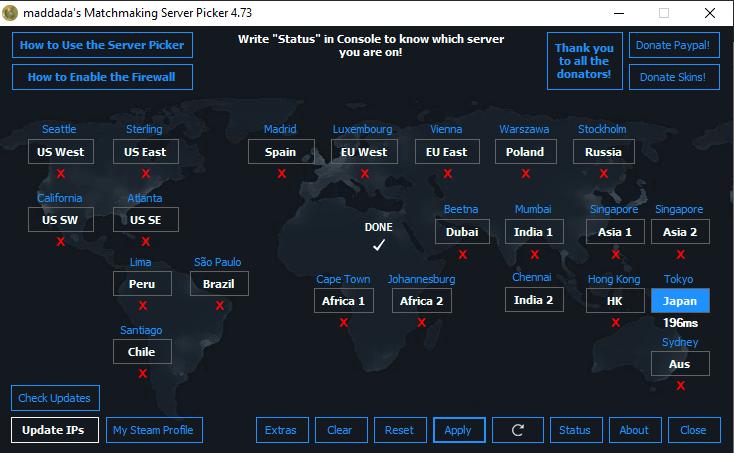 Cara Mengganti Server CS:GO Menggunakan Server Picker